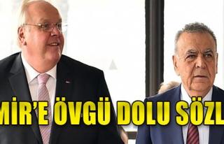 Büyükelçiden İzmir'e övgü