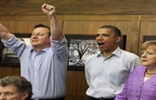Obama, Merkel ve Cameron Penaltıları İzledi