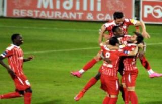 Samsunspor-Adanaspor: 2-1