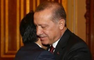 Erdoğan, Abe ile Bir Araya Geldi