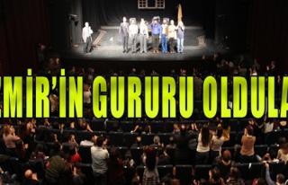 Ankara'da Ayakta Alkışlandı
