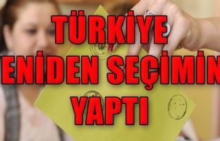 Türkiye Yeniden Seçimini Yaptı