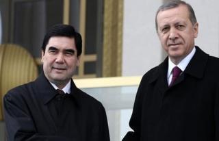 Türkmenistan Devlet Başkanı Türkiye'de