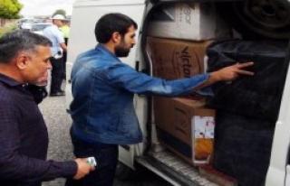 100 Bin Paket Kaçak Sigara Çıktı