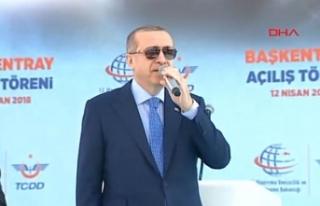 Erdoğan: Bizi onunla terbiye edemezler