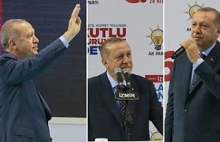 Erdoğan'dan İzmir'e teşekkür: Uzun zamandır...