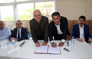 Karabağlar'da toplu sözleşme imzalandı