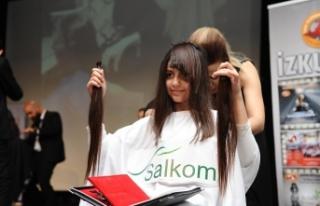 Saçım saçın olsun!