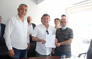 Tanju Çolak başvurusunu yaptı: İzmir'de o...