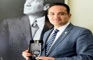Bornova'yı gururlandıran ödül