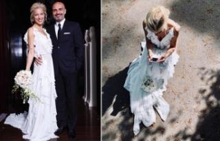 Burcu Esmersoy evlendi