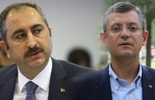 CHP'li Özel: Adalet Bakanı beni telefonla aradı