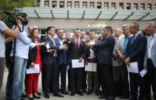 CHP'li vekillerden suç duyurusu
