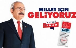 CHP 24 Haziran'da 'Millet İçin Geliyor'
