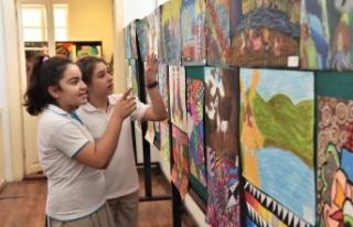 Dramalılar köşkü sanat etkinlikleri ile ilgi çekiyor
