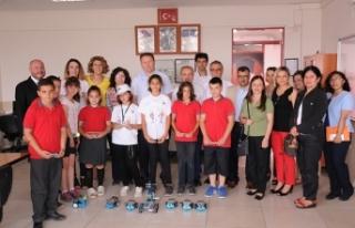 EGİAD Ortaokulu, TÜBİTAK Bilim Fuarı'nda