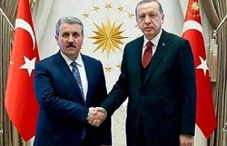 Erdoğan'dan, 'BBP ile kampanya olacak mı?'...