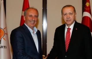 Erdoğan'dan İnce'ye 'FETÖ'...