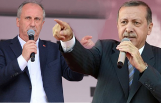 """Erdoğan'dan İnce'ye sert sözler! """"Neden..."""