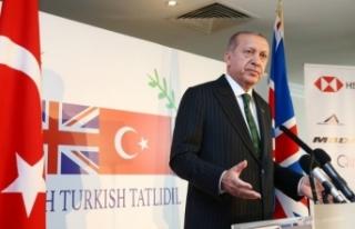 Erdoğan'dan İngiltere'de çağrı: Gelin...