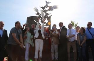 Gaziemir'e basın özgürlüğü anıtı