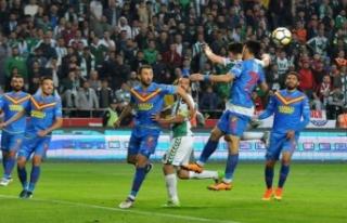 Göztepe, Konya'yı elinden kaçırdı: 1-1