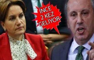 İnce ve Akşener'in İzmir'e gelecekleri...