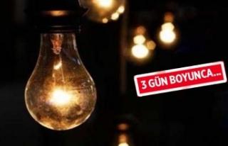 İzmir'de elektrik kesintisi
