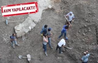 İzmir'de tarihi kalıntılar!