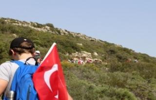İzmir'in dağlarında 'Yaşa Mustafa Kemal...