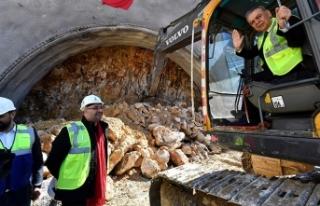 İzmir'in 'en uzun tüneli' olacak!...