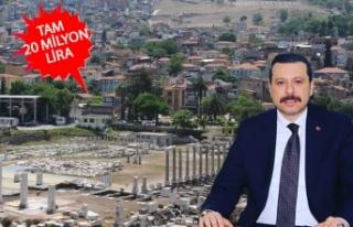 İzmir'in tarihine, 'Yıldırım' destek!