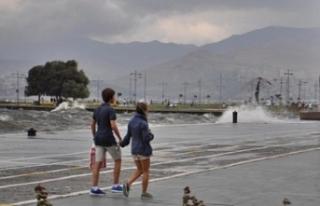 İzmirde hava durumu nasıl?
