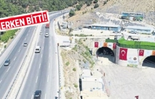 Sabuncubeli Tüneli'ne 'Yıldırım'...