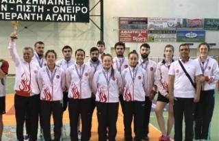 Türkiye, Balkan Şampiyonası'nda ikinci oldu