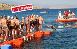 Açık su yüzme şampiyonası, Foça'da!