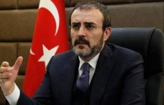 "AK Parti sözcüsü Mahir Ünal'dan ""İnce""..."