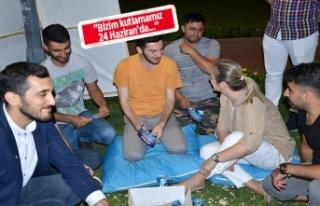 AK Partili Çankırı: Gençler artık siyasette figüran...