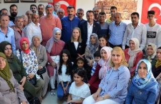 AK Partili Çankırı'ya STK desteği