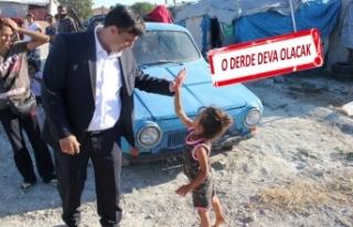 AK Partili Cemal Bekle, Romanların konut sorununu...