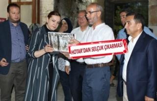 AK Partili Hotar'dan, Selçuk'a hastane müjdesi