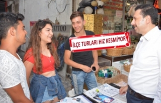 AK Partili Kaya'dan Çeşme'ye 12 ay turizm...