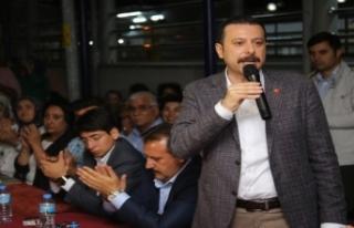 AK Partili Kaya'dan tarım organize sanayi bölgesi...