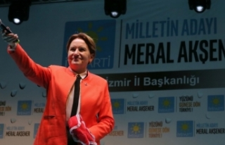 Akşener'den İzmir'de Başbakan'a hodri...