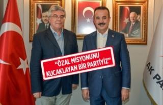 Anavatan'dan, AK Parti ziyareti!
