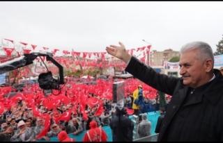 Başbakan Yıldırım'dan İzmir'e özel...