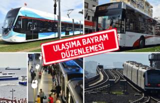 İzmir'de toplu taşıma yarı fiyatına