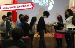 Bornovalı çocuklara özel Kısa Film Atölyesi