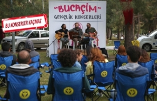 Buca'da çim konserleri başlıyor