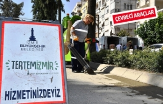 Büyükşehir'den 'temizlik' harekatı